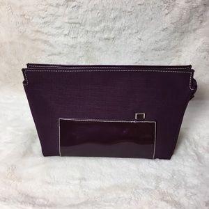 Estée Lauder Vintage Plum Makeup Bag